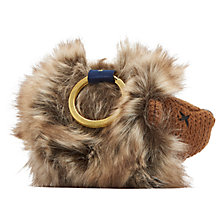 Buy Joules Hedgehog Keyring, Brown Online at johnlewis.com