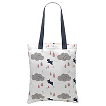 Buy Radley Rainbow Cotton Canvas Medium Tote Bag, Natural Online at johnlewis.com
