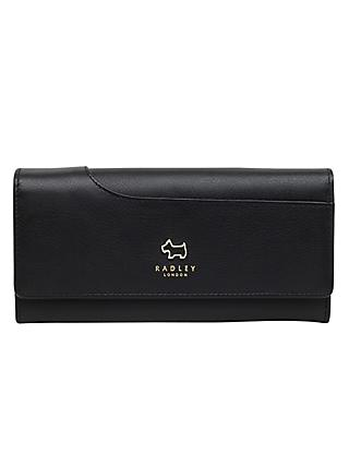 Radley Pockets Leather Matinee Purse, Black