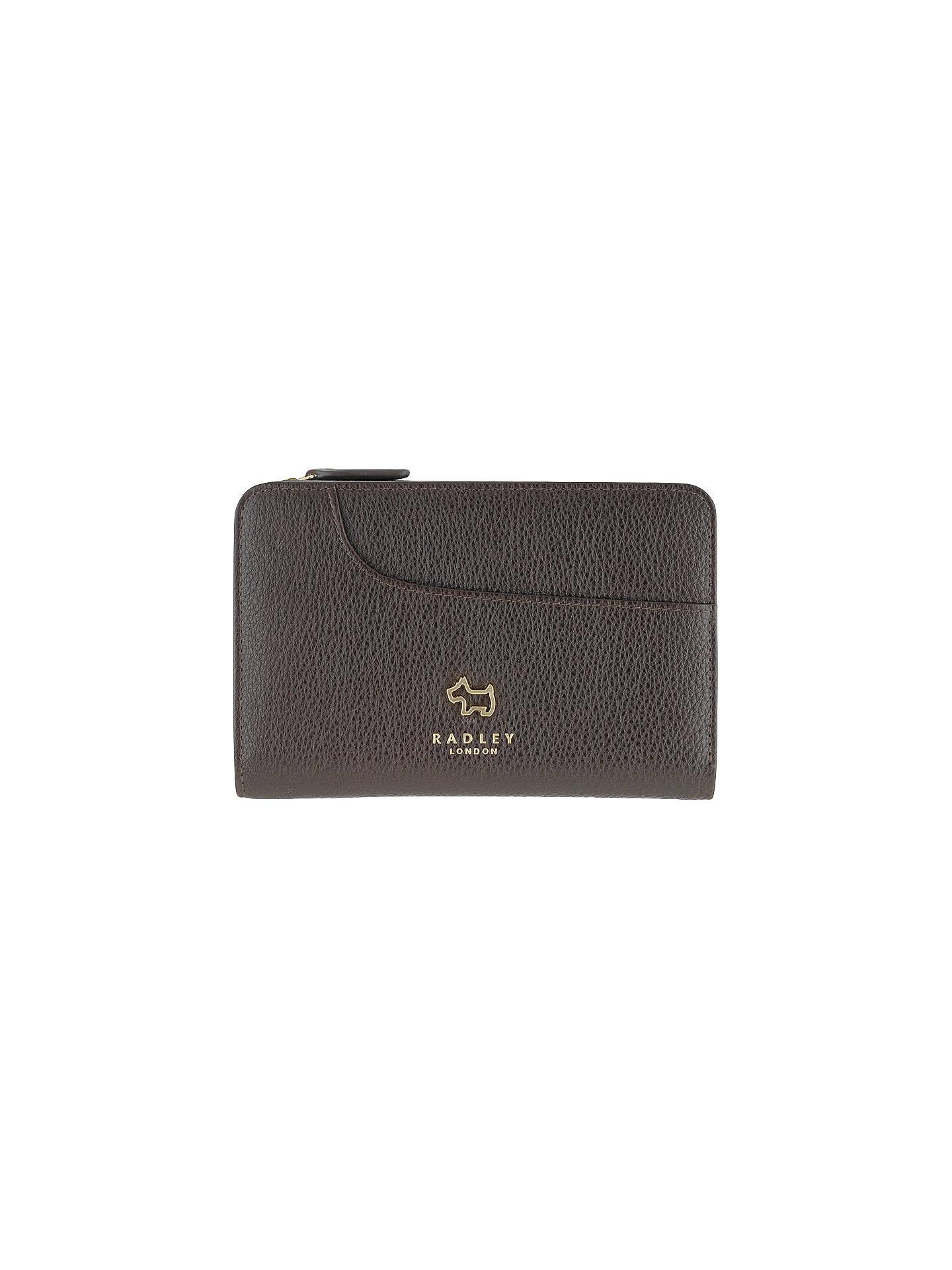 e2fb2f4aada3 Radley Pockets Leather Medium Zip-Top Purse at John Lewis   Partners