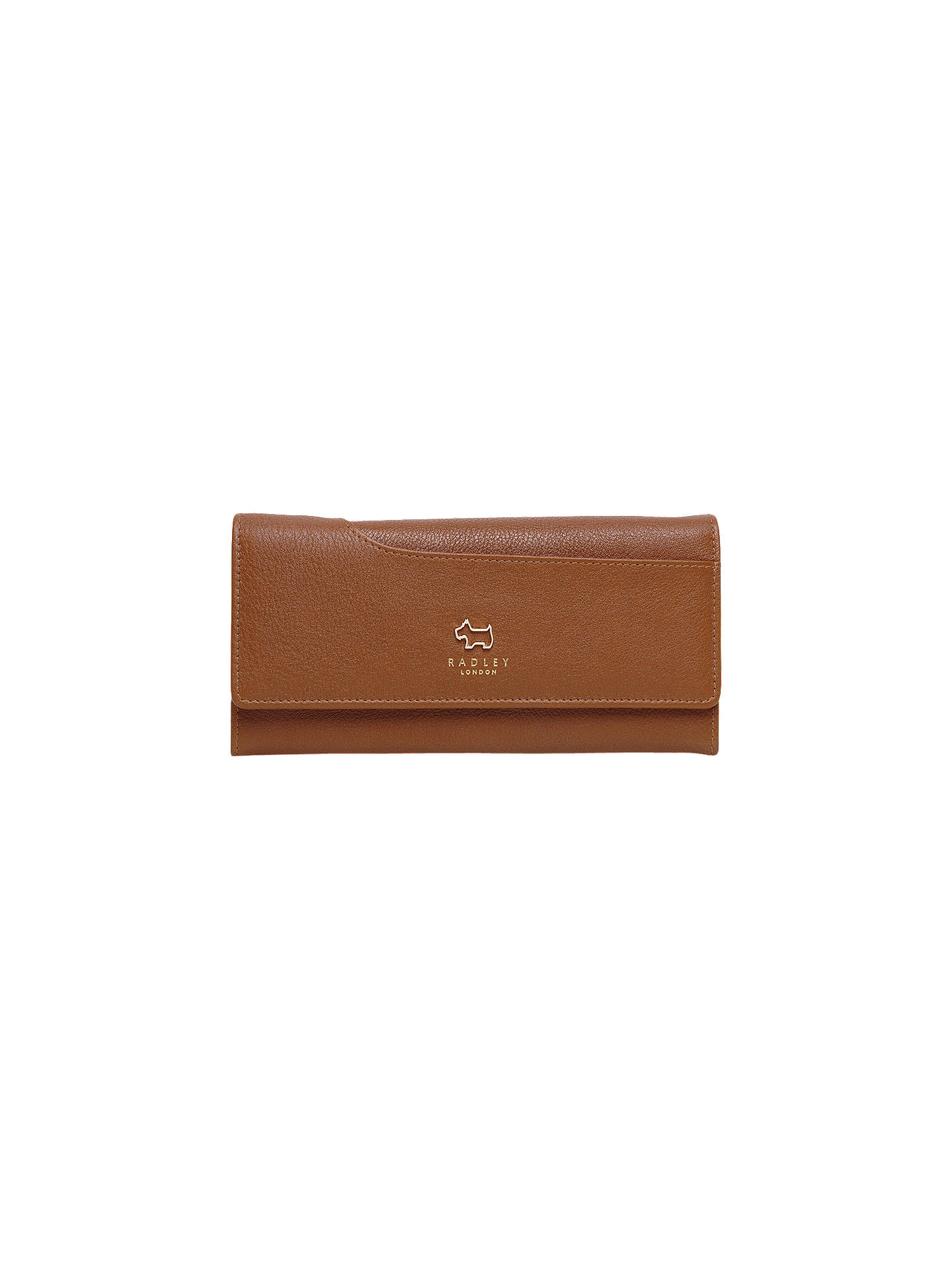 BuyRadley Pockets Leather Large Matinee Purse, Grain Tan Online at johnlewis.com
