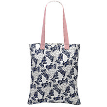 Buy Radley Folk Dog Fabric Tote Bag, Natural Online at johnlewis.com