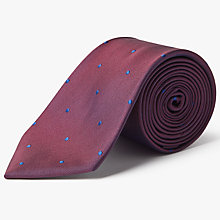 Buy Hackett London Michael Dot Silk Tie Online at johnlewis.com