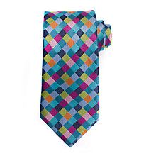 Buy John Lewis Giant Harlequin Silk Tie, Multi Online at johnlewis.com