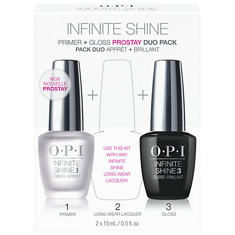 Buy OPI Infinite Shine ProStay Primer & Top Coat Duo Pack Online at johnlewis.com