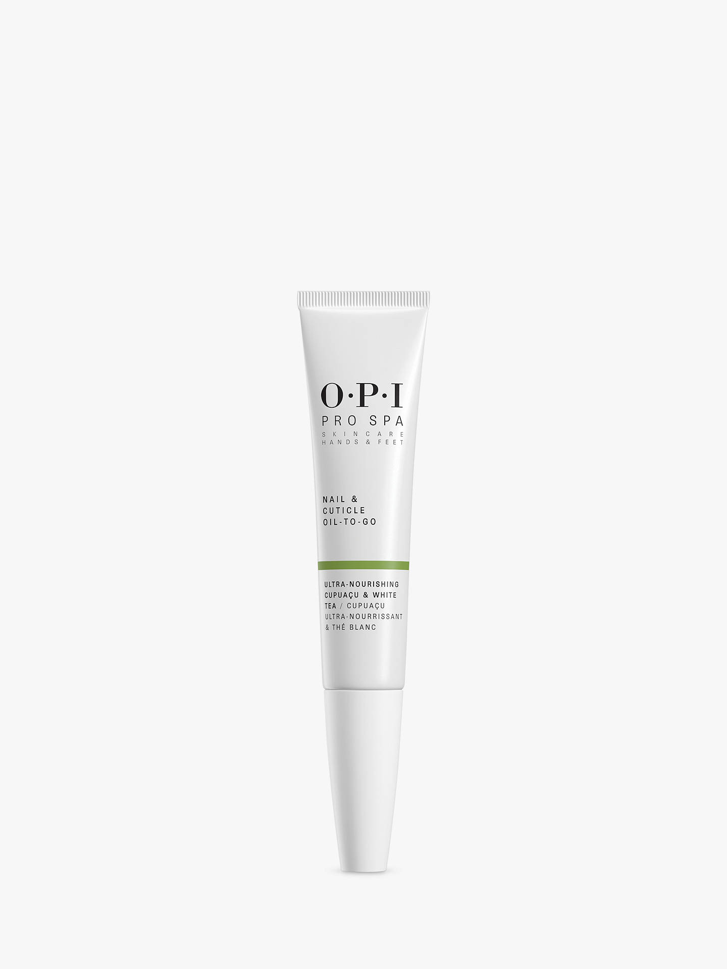247c32ab OPI Pro Spa Nail & Cuticle Oil-To-Go, 7.5ml at John Lewis & Partners