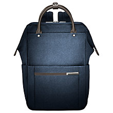 Buy Briggs & Riley Kinzie Frame Wide-Mouth Backpack Online at johnlewis.com