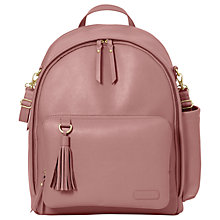 Buy Skip Hop Greenwich Backpack, Dusty Rose Online at johnlewis.com