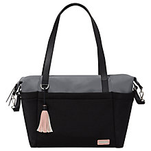 Buy Skip Hop Nolita Tote Changing Bag, Black/Grey Online at johnlewis.com