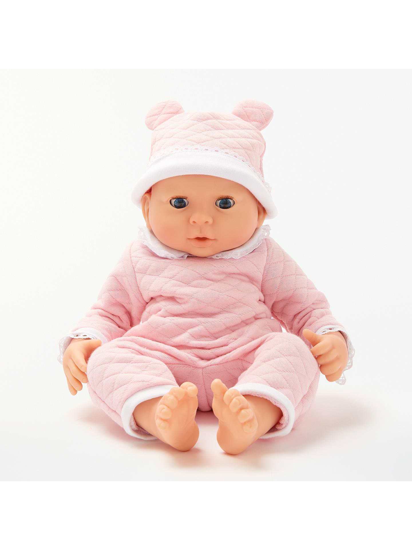 54df3da850f Buy John Lewis   Partners Newborn Baby Doll