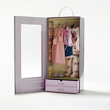 Buy John Lewis Collector's Doll Wardrobe Bumper Set Online at johnlewis.com