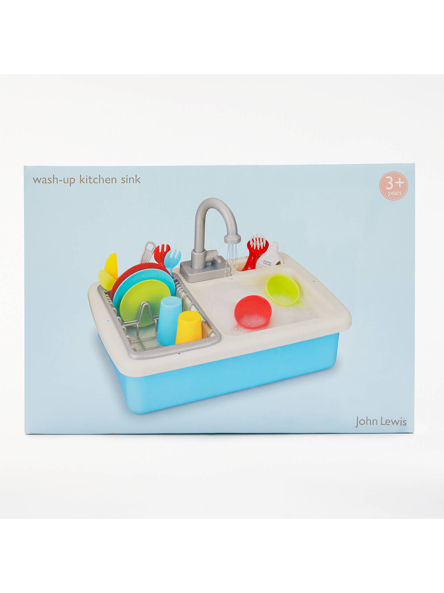 0e2793ffcd5b ... Buy John Lewis   Partners Wash Up Kitchen Sink Playset Online at  johnlewis.com