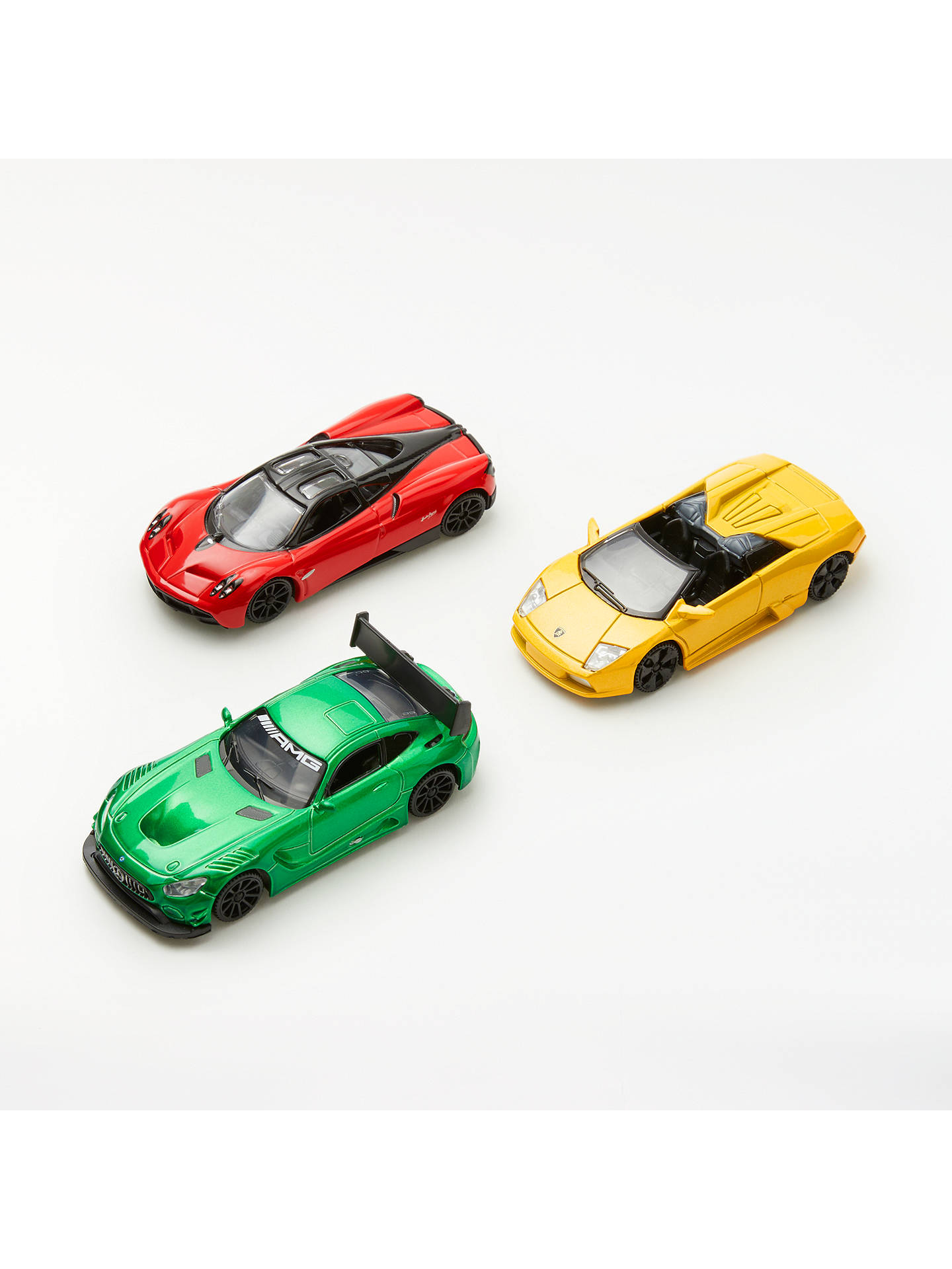 John Lewis Partners 1 43 Performance Sport Die Cast Toy Cars Pack