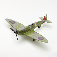 Buy John Lewis 1:100 Spitfire Die-cast Toy Plane Online at johnlewis.com