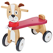 Buy John Lewis Wooden Ride-On Dog Online at johnlewis.com