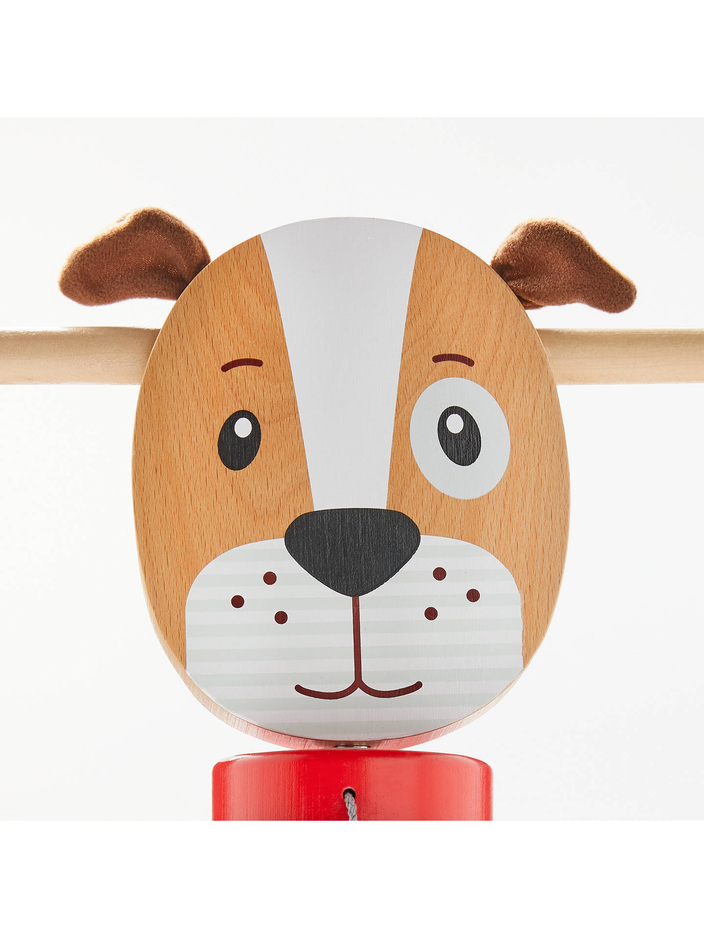 BuyJohn Lewis & Partners Wooden Ride-On Dog Online at johnlewis.com