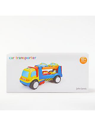 John Lewis & Partners Car Transporter