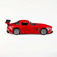 Buy John Lewis 1:24 Mercedes AMG Red Die-cast Toy Car Online at johnlewis.com