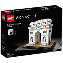 Buy LEGO Architecture 21036 Arc de Triomphe Online at johnlewis.com