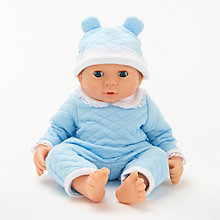 Buy John Lewis Newborn Baby Doll Online at johnlewis.com
