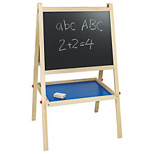 Buy John Lewis Chalkboard and Easel Online at johnlewis.com