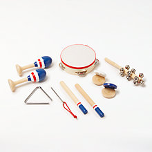 Buy John Lewis 10 Piece Musical Instrument Set Online at johnlewis.com