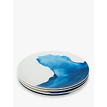 Buy Rick Stein Coves of Cornwall Dinner Plate, Set of 4, Blue/White, Dia.28cm Online at johnlewis.com