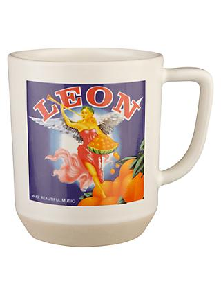 LEON Music Crest Tea Mug, 340ml