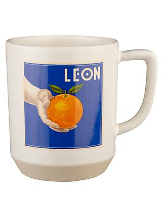 LEON Orange Tea Mug, 340ml