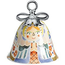 "Buy Alessi ""Holy Family "" Mary Bell Christmas Tree Decoration Online at johnlewis.com"