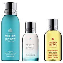 Buy Molton Brown Coastal Cypress & Sea Fennel Deodorant and Eau de Toilette with Gift Online at johnlewis.com