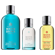 Buy Molton Brown Coastal Cypress & Sea Fennel Bath & Shower Gel and Eau de Toilette with Gift Online at johnlewis.com