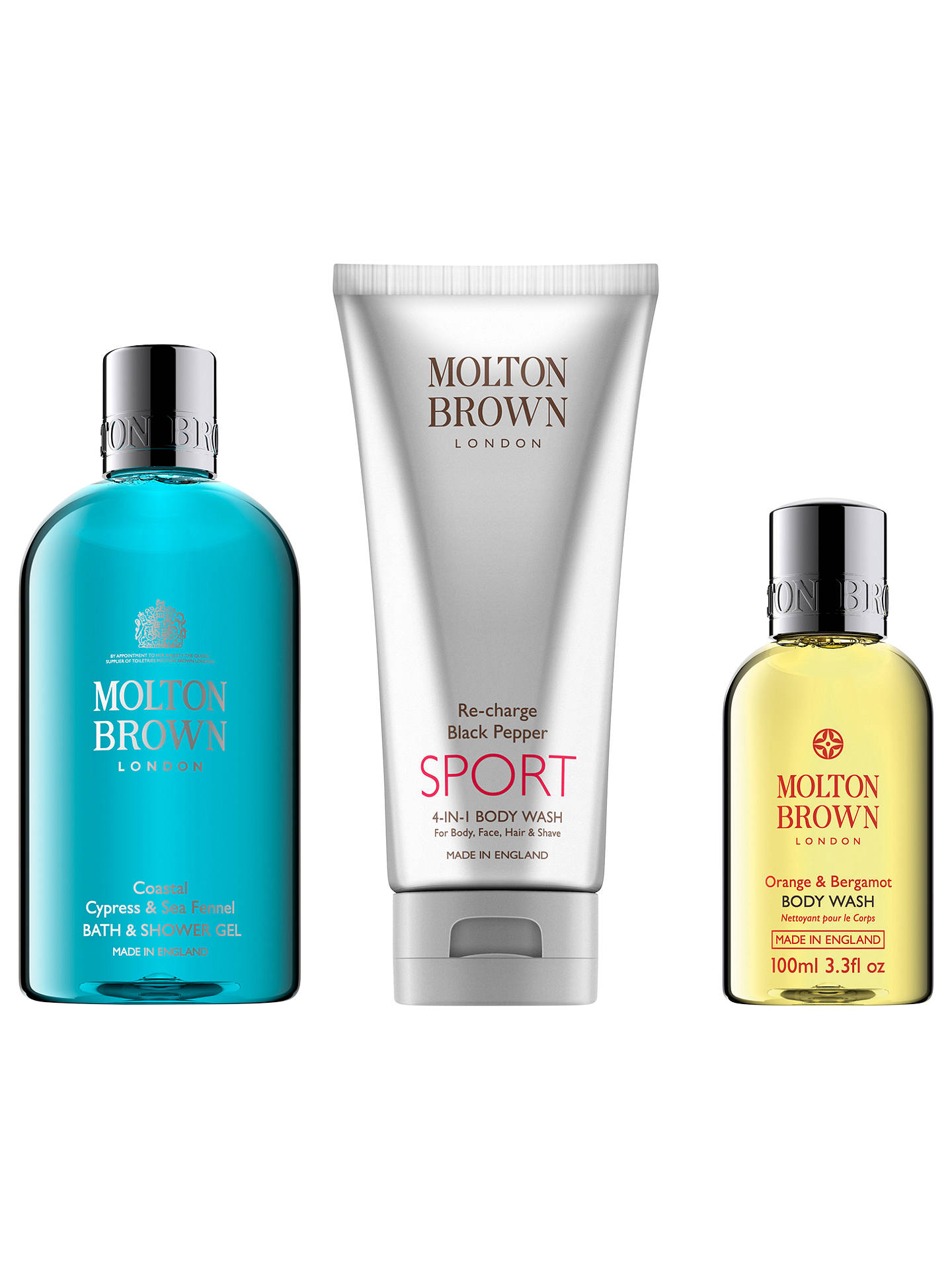 4fabfc11a852 Buy Molton Brown Coastal Cypress   Sea Fennel Shower Gel and Re-Charge  Black Pepper
