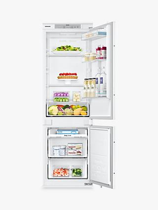 Samsung BRB260000WW/EU Integrated Fridge Freezer, A+ Energy Rating, 54cm Wide, White Gloss