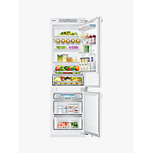 Buy Samsung BRB260130WW/EU Integrated Fridge Freezer, A+ Energy Rating, 54cm Wide, White Gloss Online at johnlewis.com