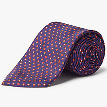 Buy Hackett London Mini Pine Silk Tie Online at johnlewis.com