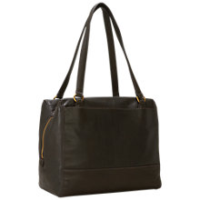 Buy Liebeskind Mesa Milano Leather Shoulder Bag, Olive Green Online at johnlewis.com