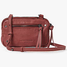 Buy Liebeskind Janina Sporty Vintage Suede Cross Body Bag Online at johnlewis.com