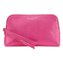 Buy Aspinal of London Essential Leather Small Cosmetic Case Online at johnlewis.com