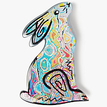 Buy One Button Bunny Brooch, Multi Online at johnlewis.com