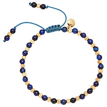 Buy Lola Rose Boxed Portobello Lapis Lazuli Bracelet, Blue/Gold Online at johnlewis.com
