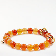 Buy Lola Rose Agnes Bracelet, Rusty Montana Agate Online at johnlewis.com