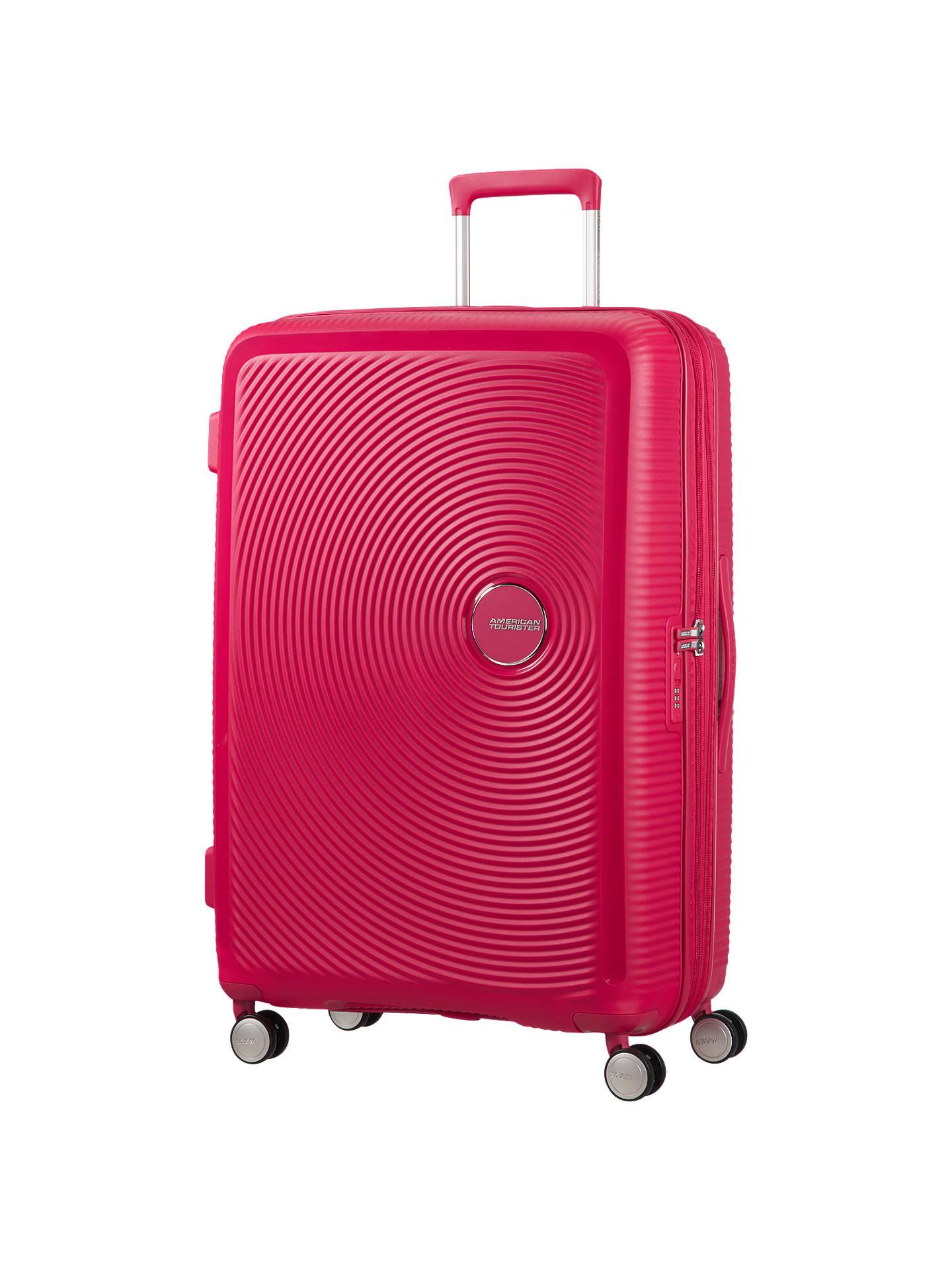 c9ca39d9ef0c American Tourister Soundbox 4-Spinner Wheel 77cm Large Suitcase at ...