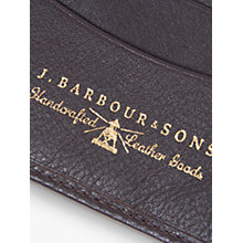 Buy Barbour Leather Wallet, Brown Online at johnlewis.com