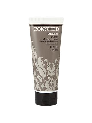 Cowshed Bullocks Smooth Shaving Cream, 100ml
