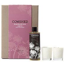 Buy Cowshed Knackered Cow Night In Gift Set Online at johnlewis.com