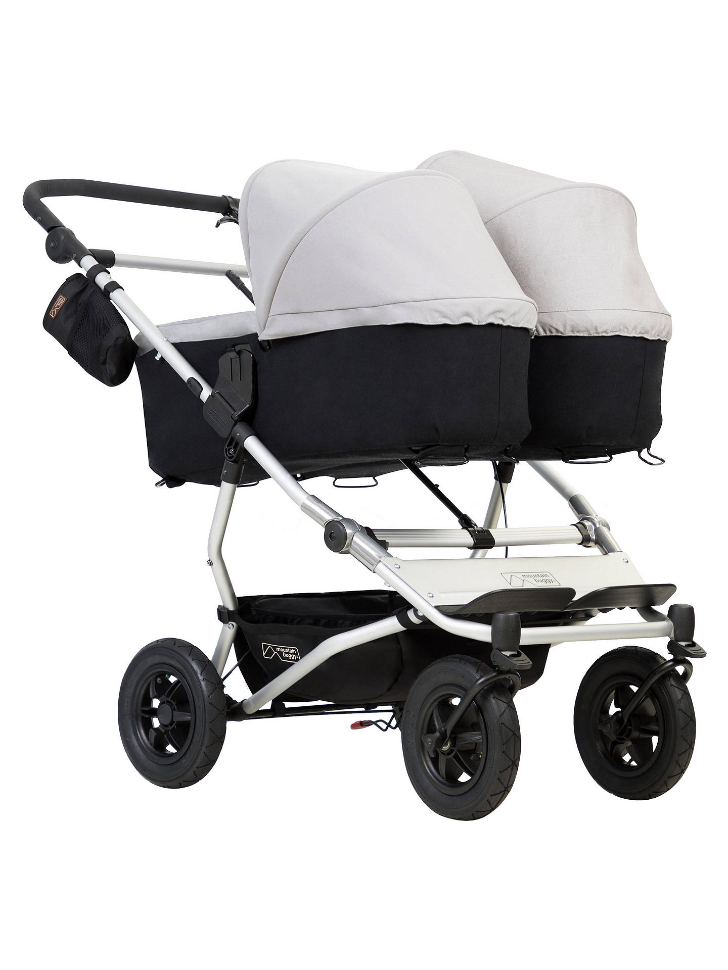 Mountain Buggy Duet V3 Carrycot Silver