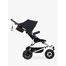 Buy Mountain Buggy Duet V3 Puschair and Carrycot Bundle, Black Online at johnlewis.com