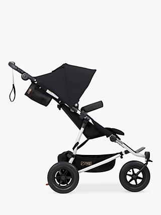Mountain Buggy Duet V3 Pushchair, Black