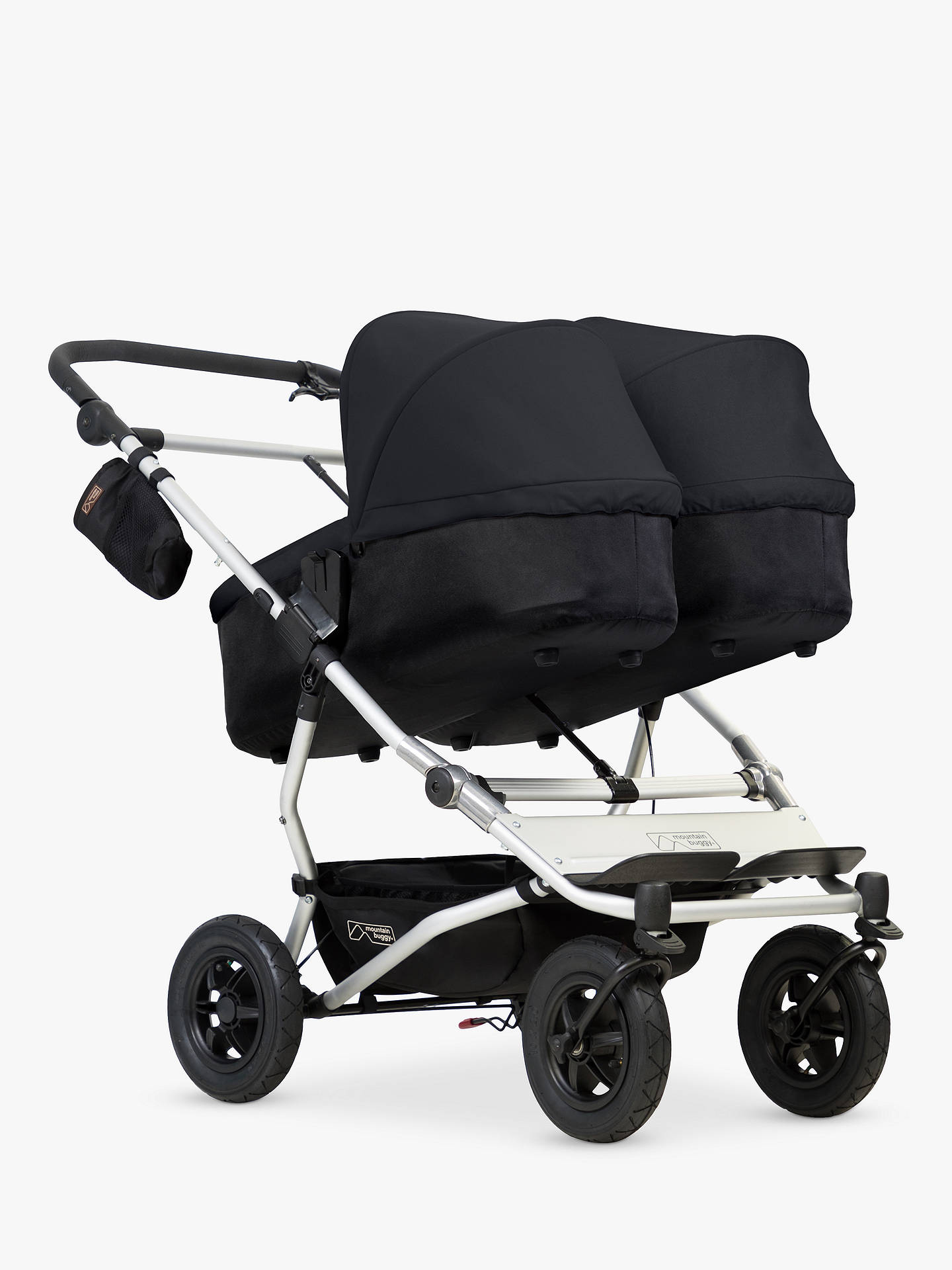 Buy Mountain Buggy Duet V3 Pushchair, Black Online at johnlewis.com